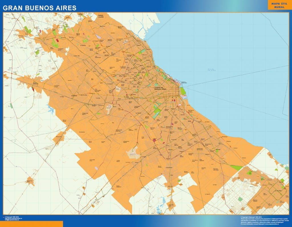 Mapa Gran Buenos Aires