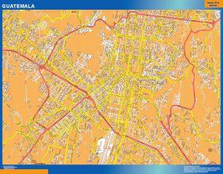 Mapa de Guatemala ciudad